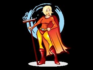Kiwi Superhero