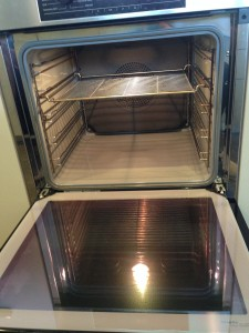 "Vacate Clean Oven ""After"""